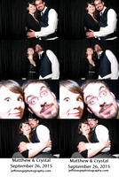 Matthew & Crystal's Photo Booth