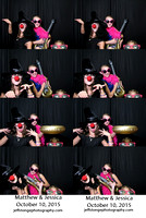 Matthew & Jessica Photo Booth