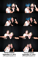 Denny & Arlene's Photo booth