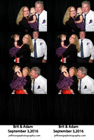 Adam & Brit Photo Booth