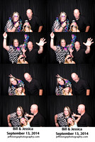 Bill & Jessica's Photo booth